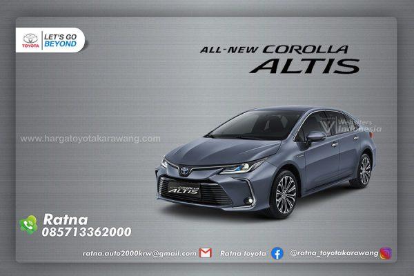 New Corolla Altis