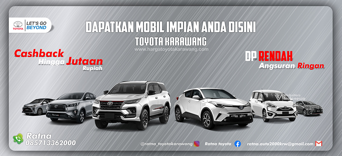 Slider Toyota Karawang by Websiters Indonesia
